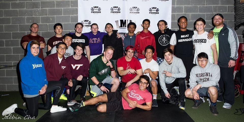 Joe Imperato and IMP Fitness gym members